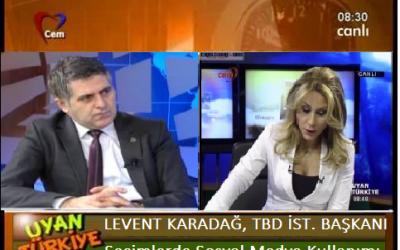 Levent Karadağ, Cem TV Program Konuğu