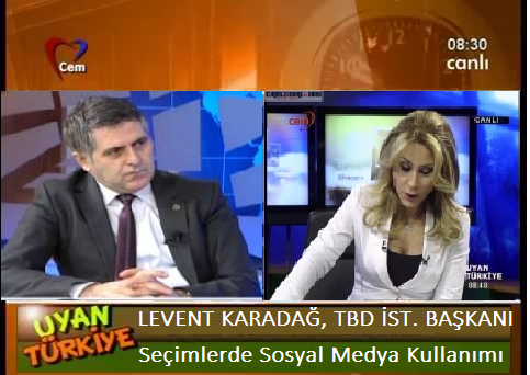 Levent Karadağ, Cem TV Program Konuğu